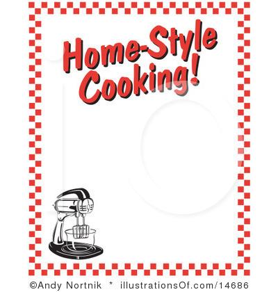 Kitchen clipart border Clipart Baking Border kitchen Clipart