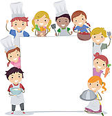 Baking clipart banner Clip art Free collections borders