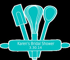 Kitchen clipart bridal shower #1