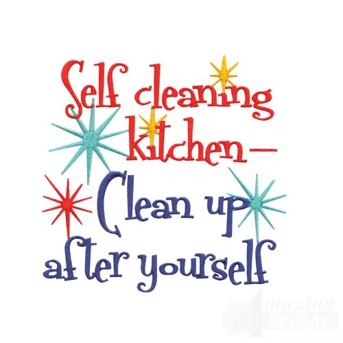 Kitchen clipart clean kitchen Funny Cleaning clip Art Funny