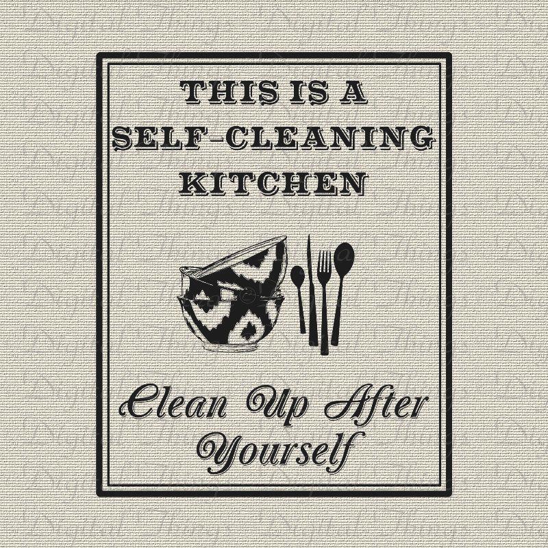 Kitchen clipart clean kitchen Decor  Kitchen Self Decor