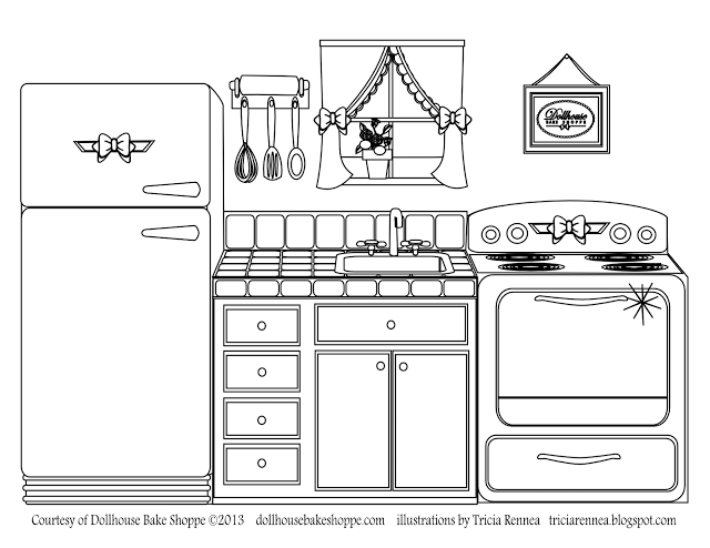 Kitchen clipart coloring Dillon @Lindsay from page your