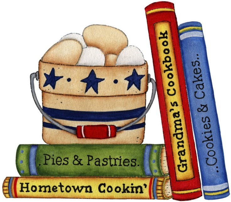 Kitchen clipart cookbook Best images about kitchen on