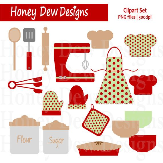 Kitchen clipart cookbook Best images about Baking Christmas