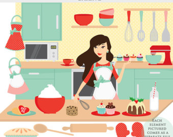 Kitchen clipart cooking contest Kitchen clipart utensils in cooking