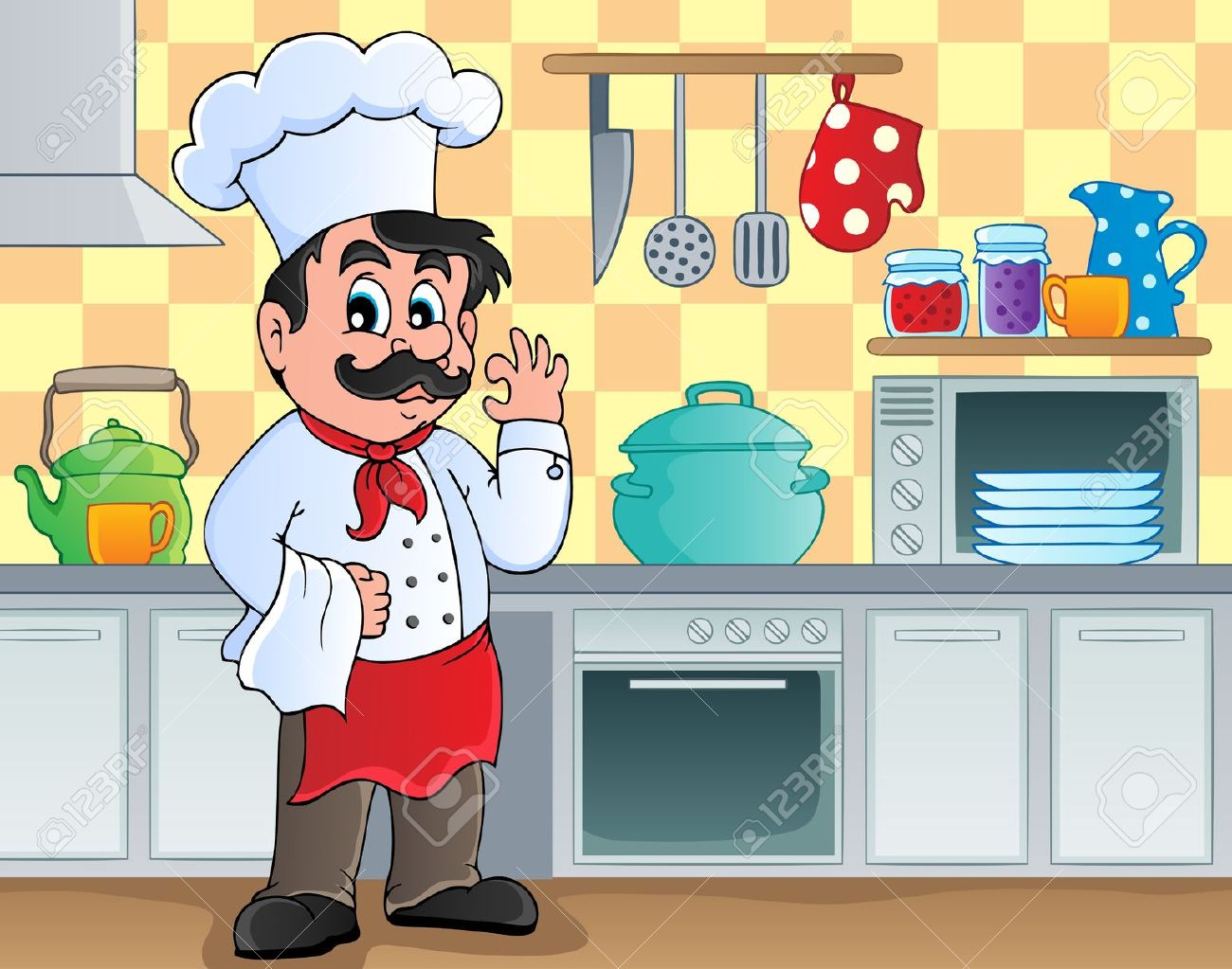 Kitchen clipart cooking contest Kitchen clipart Theme in cooking