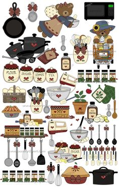Kitchen clipart cooking contest Clipart All baking Baking