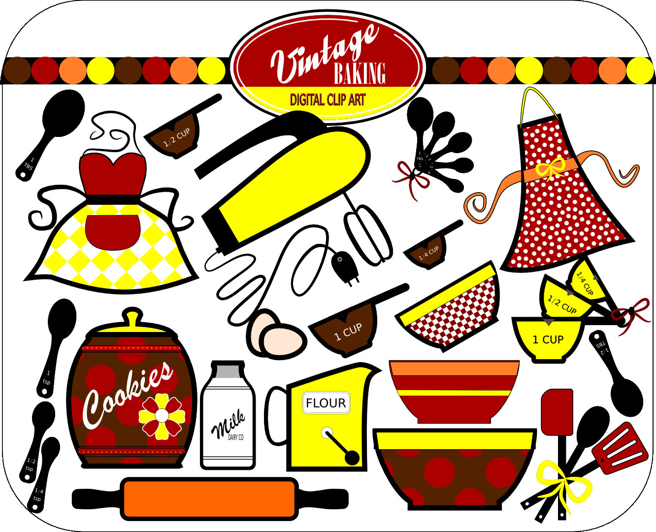 Kitchen clipart cooking equipment Cute clipart Cooking country Clipart