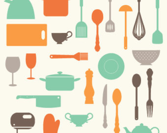 Kitchen clipart cooking equipment Clipart Tools Cooking Kitchen Clipart