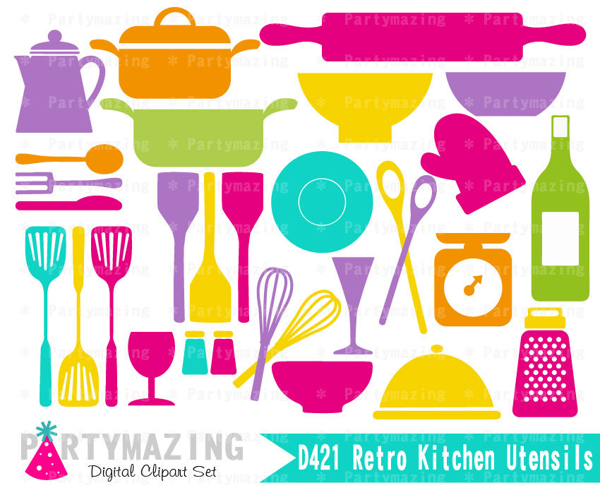 Kitchen clipart cooking equipment Baking Kitchen Clipart Utencils Kitchen