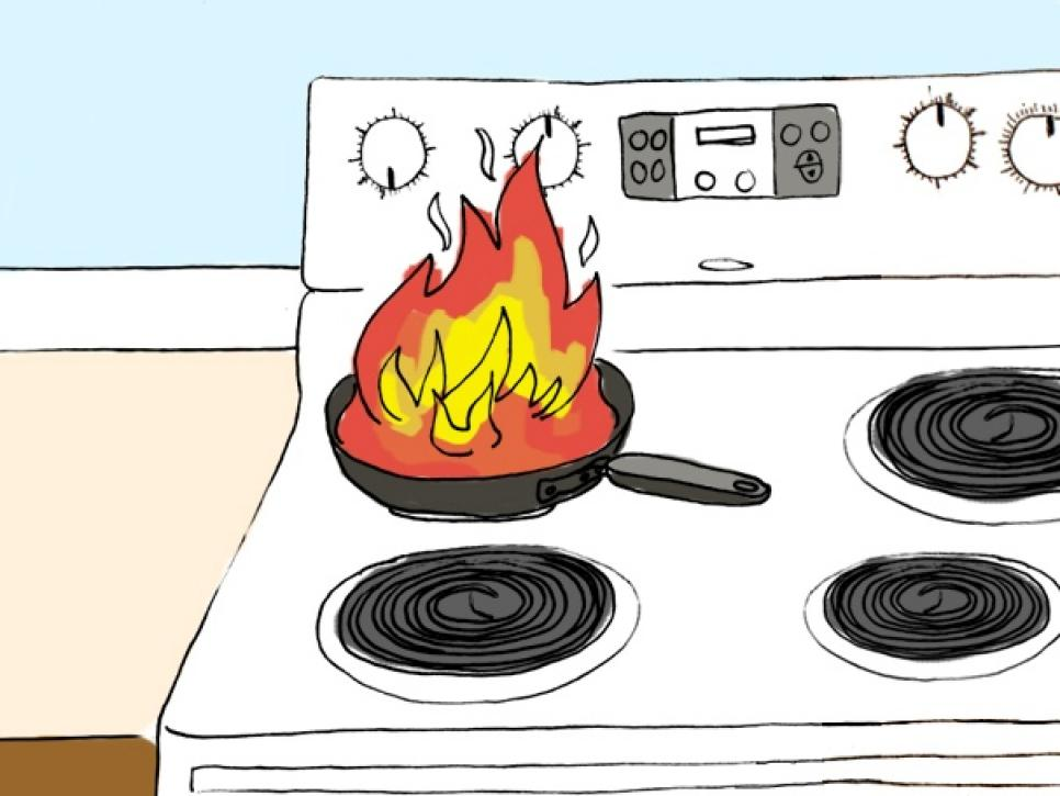 The Kitchen clipart cooking gas And Repair Mishaps DIY Accidents