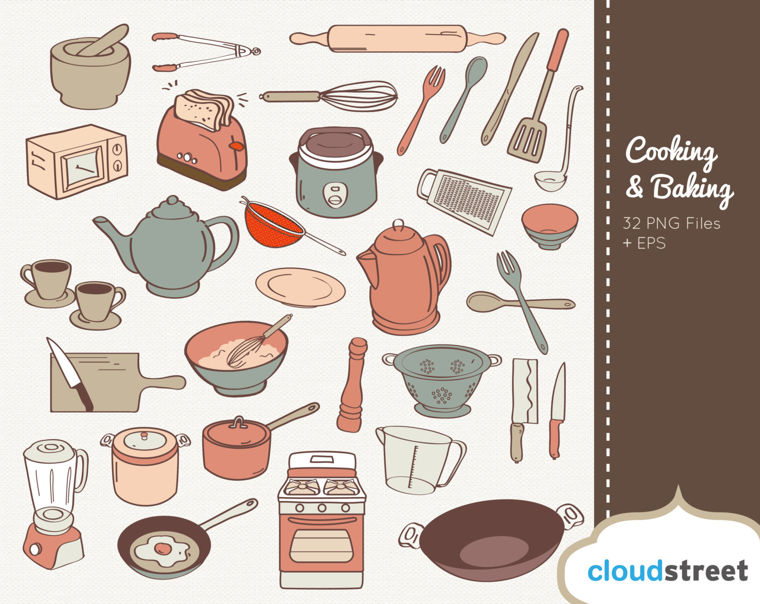 Baking clipart cooking utensil For and graphics for commercial