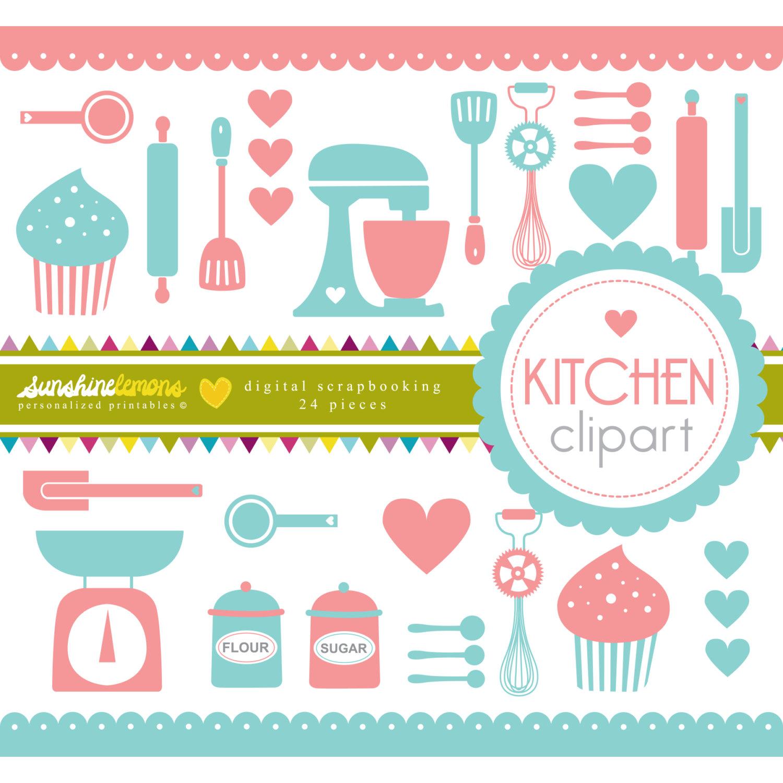 The Kitchen clipart kitchen tool Clipart Art Download Clipart Utensils
