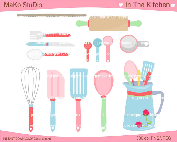 Baking clipart cooking utensil Art Cooking In Clip