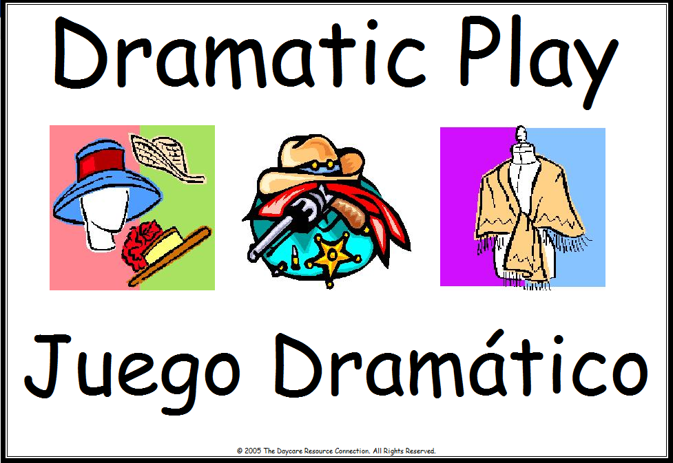 Place clipart play center Signs Dramatico Classroom Dramatic Center