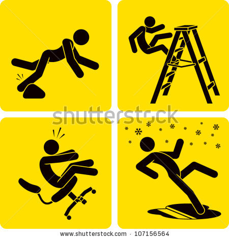 Crash clipart workplace accident Clip forms styled like Clip