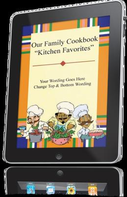 Kitchen clipart family cookbook #5