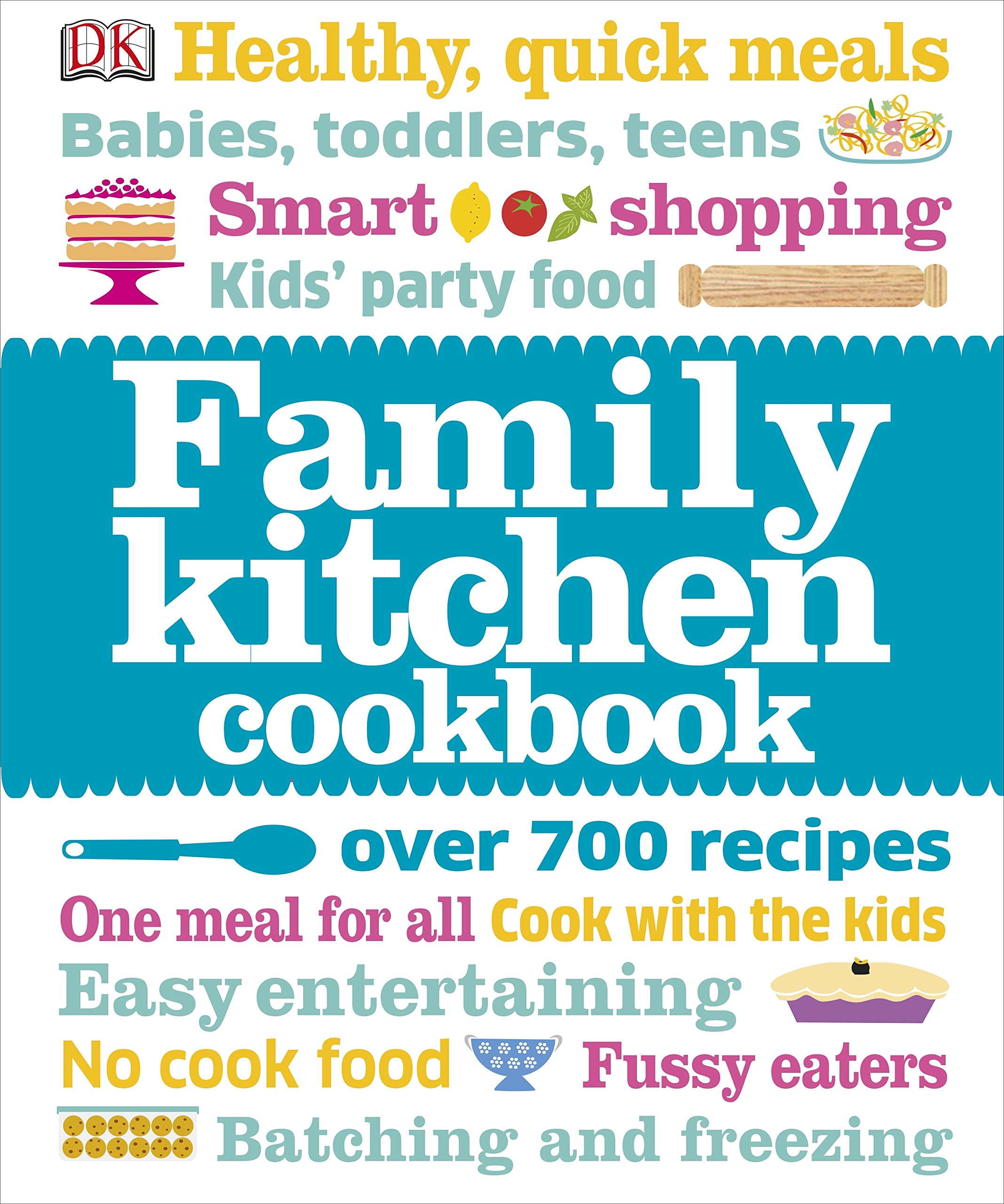 Kitchen clipart family cookbook #13