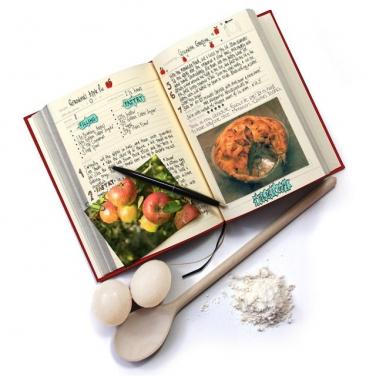 Kitchen clipart family cookbook #12