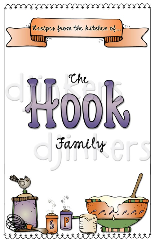 Kitchen clipart family cookbook #1