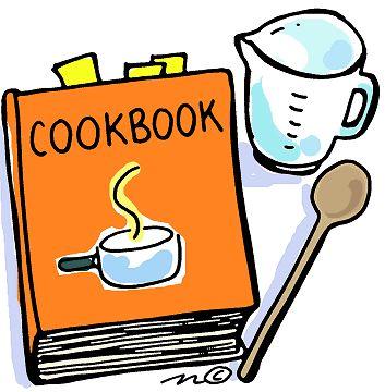 Kitchen clipart family cookbook #2