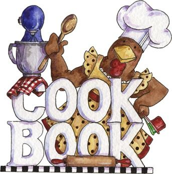 Cover clipart recipe book KITCHEN more COOKING on KITCHEN