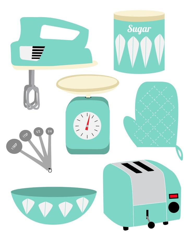 Technics clipart 447 Kitchen illustrations images about