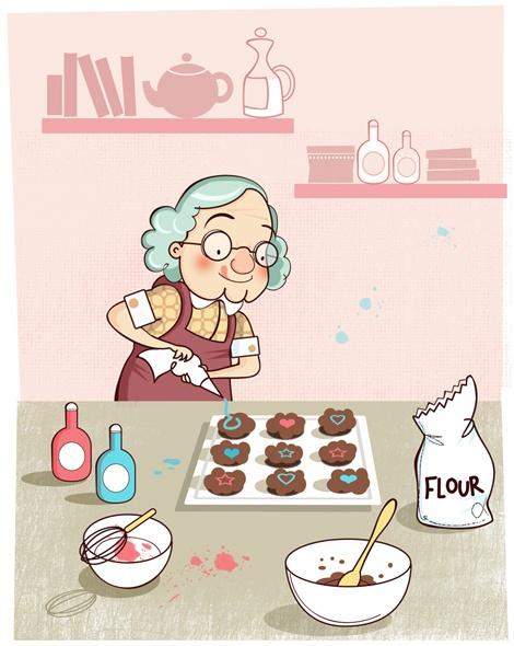 Kitchen clipart grandma's #8