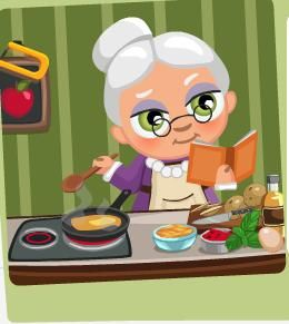 Kitchen clipart grandma's #1