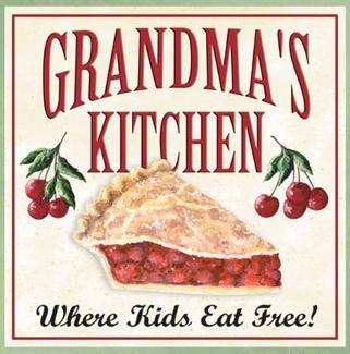 Kitchen clipart grandma's #2