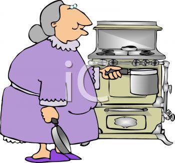 Kitchen clipart grandma's #4