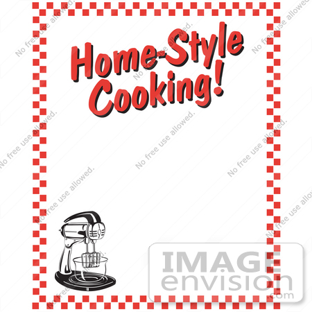 The Kitchen clipart home cooked meal Home clip Cooked art border