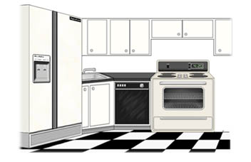 Kitchen clipart house room Free free 3 images free