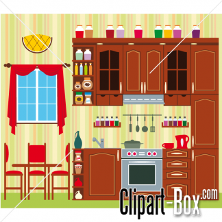 Kitchen clipart house room Images Free Free Art Clip