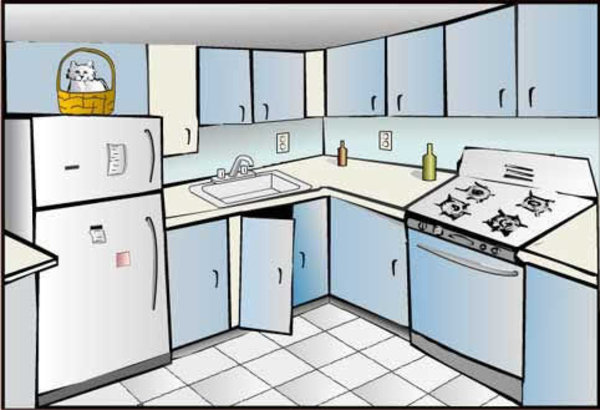 Kitchen clipart house room Kitchen Know Countertop The In