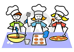 Kitchen clipart kid kitchen Free Kids Clipart Cooking Images