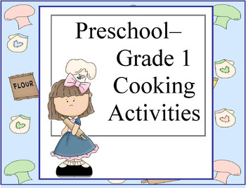 Kitchen clipart kindergarten Recipes  activities Preschool Snack