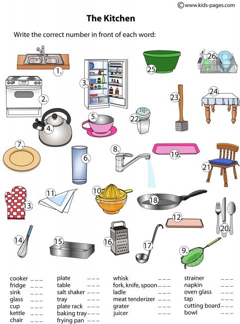 Kitchen clipart kindergarten Kitchen Room Home Kitchen Jobs
