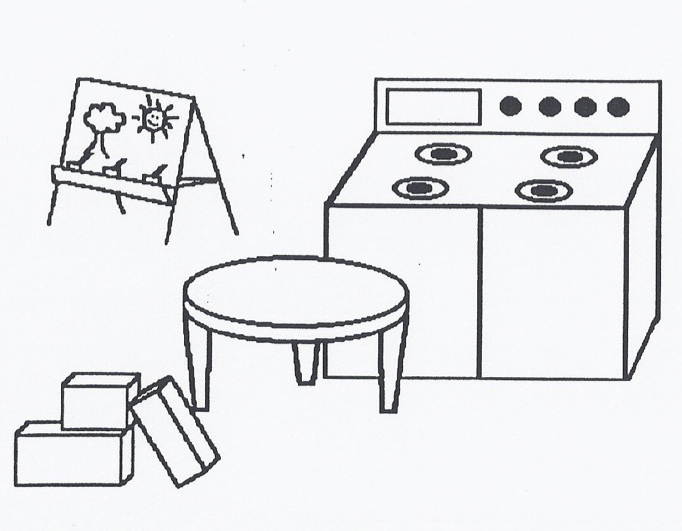Kitchen clipart kindergarten Dramatic Play Art Download Play