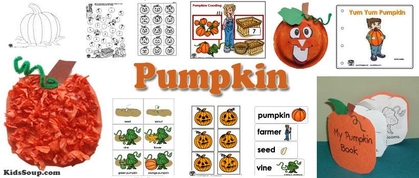 Kitchen clipart kindergarten Crafts In Kitchen Pumpkins Activities
