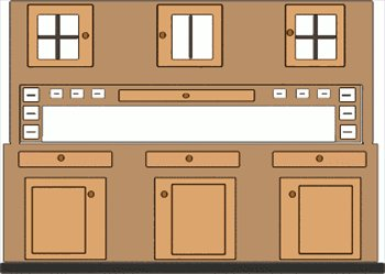 The Kitchen clipart kitchen cabinet  Graphics kitchen kitchen Free