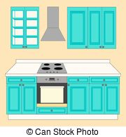 Kitchen clipart kitchen counter Clipart  Royalty icon on
