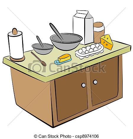Kitchen clipart kitchen counter Kitchen Art Kitchen In Counter