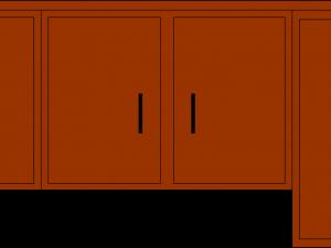 The Kitchen clipart kitchen cabinet Open clipart Kitchen cabinets qqbpmklv