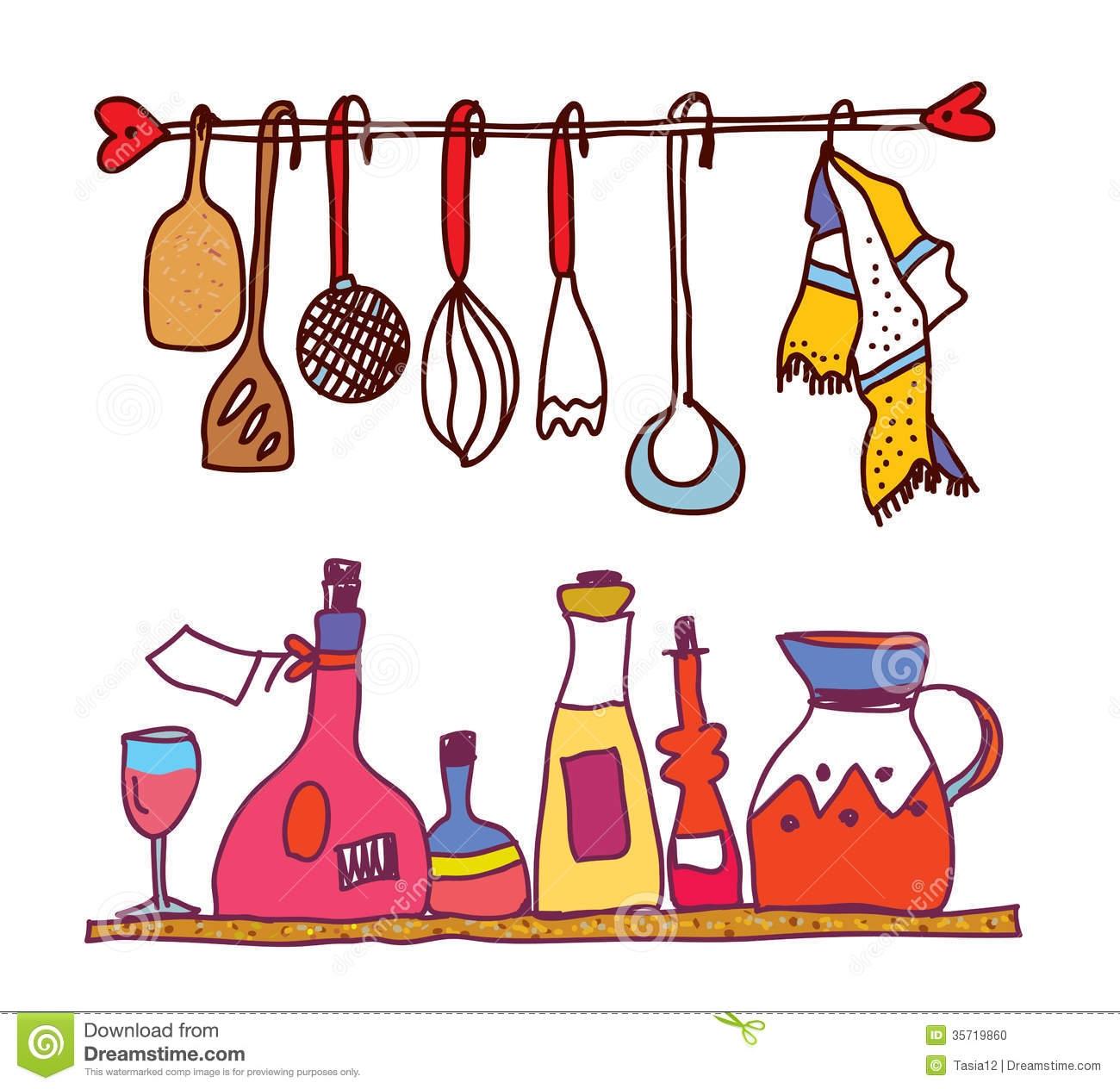 Kitchen clipart kitchen item Kitchen Items Of Kitchen art