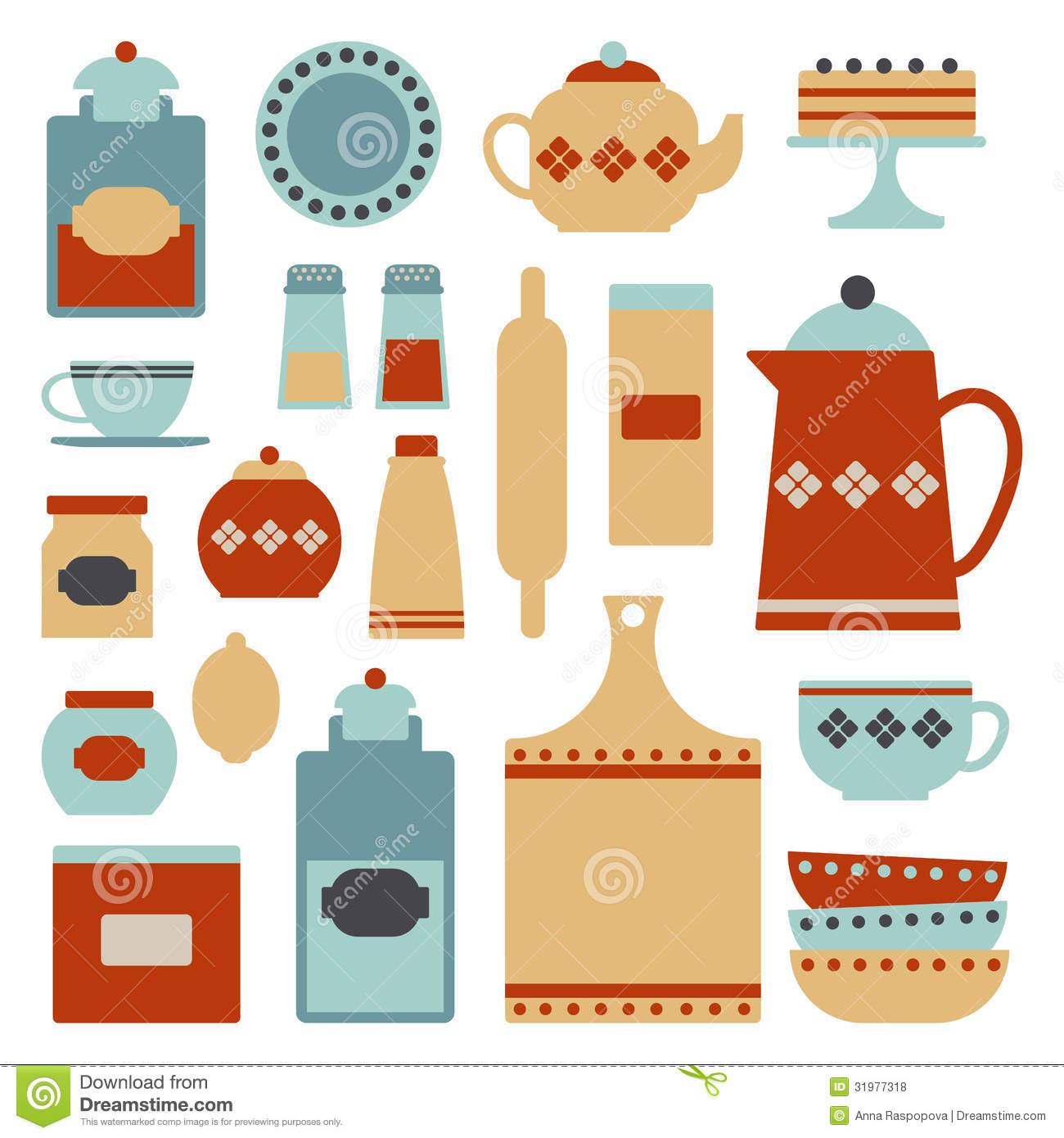 Kitchen clipart kitchen item Vintage Dohatour jpg Items 31977318
