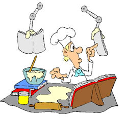 Baking clipart chef Messy Culinary Clipart Chef cliparts