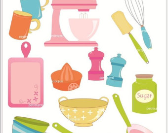 Kitchen clipart vector art Clipart Images Free Clipart Cooking