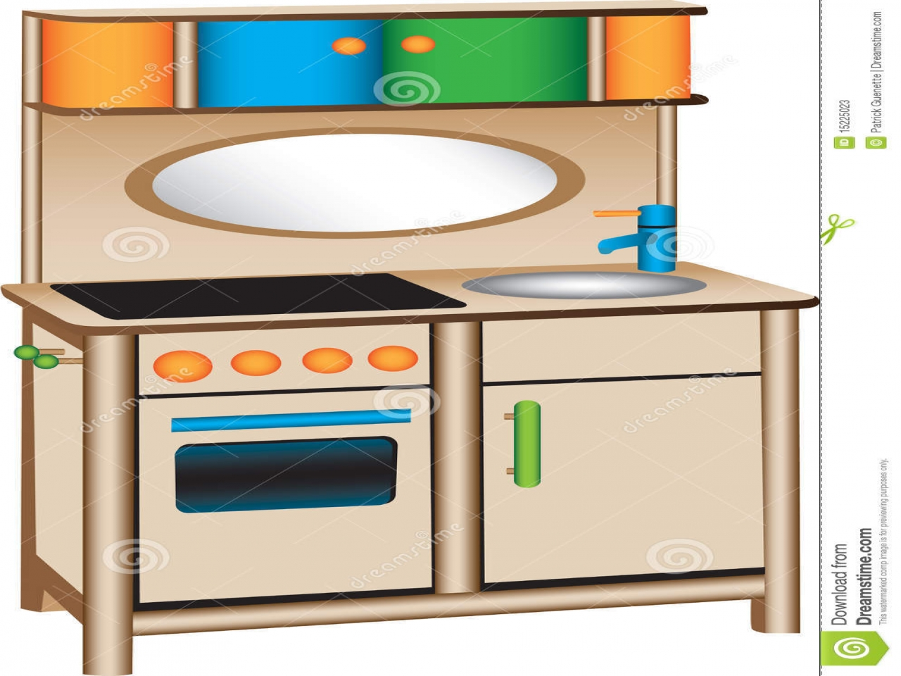 The Kitchen clipart kitchen play Kitchen 155209 Play and royalty