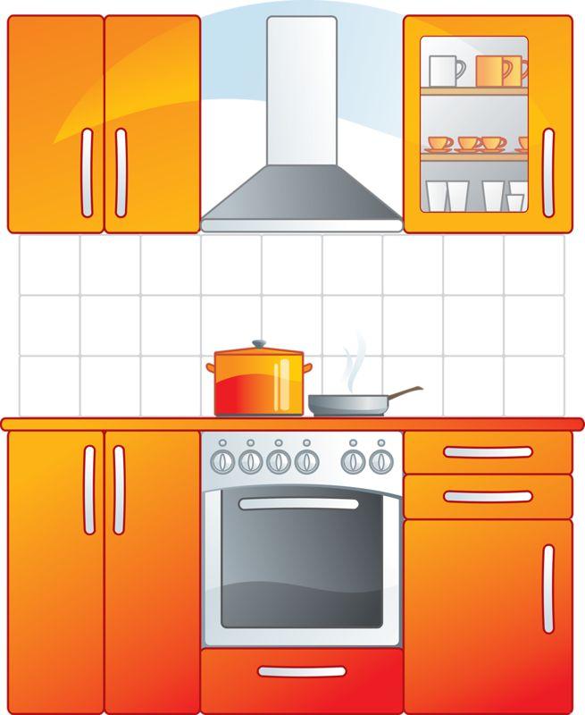 Kitchen clipart kitchen room Images about Pinterest Фотки Kitchen